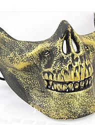 Mask 1pc Masques de Carnaval Cool / Spécial Taille unique Doré Plastique