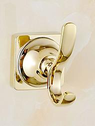 Крючок для халата / Карбонитрид титана / Крепление на стену /9*7*9cm(3.5*2.8*3.5inch) /Медь /Современный /9cm 7cm 0.3