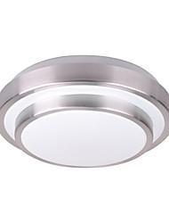 Modern15W LED Ceiling Light/ Aluminum Acrylic Flush Mount Living Room / Bedroom / Dining Room light Fixture AC90-240V