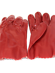 OZERO® Pvc Dipped Kitchen Gloves Labor Insurance Anti-Chemical Oil Slick Mitts Acid