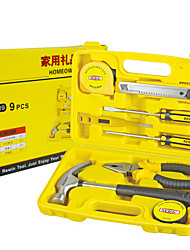 REWIN® TOOL  9 PCS Homeowner's Tools Set