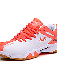 Men's Shoes PU Athletic Sneakers Athletic Sneaker Low Heel Lace-up Green / Red / Orange