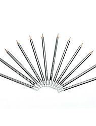 Hexagon Type Wooden Pencil Set 12 PCS