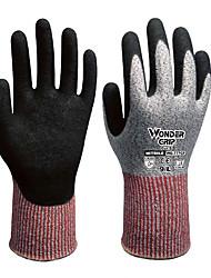Pergunto Grip® wg-518 de borracha nitrílica impregnada universais anti anti petróleo usar luvas inteligentes confortáveis