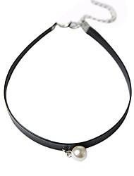 Damen Anhängerketten Perle Aleación Langlebig Bikini Böhmen-Art Kreuz Schwarz Schmuck Alltag Normal 1 Stück