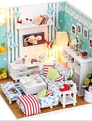 bricolaje cabaña sueño juguete modelo de la casa