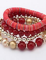 Bracelet Charmes pour Bracelets / Bracelets de rive / Bracelets Wrap Alliage / Acrylique Others Mode / Bohemia styleQuotidien /