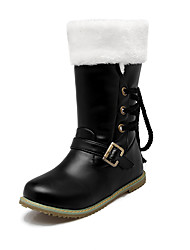 Women's Shoes  Spring / Fall / Winter Riding Boots / Fashion Boots Boots Outdoor /  Casual Low HeelBuckle /500