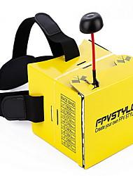 Fpv Paper Shell Eye Lens Mounted Display Aerial Video Glasses
