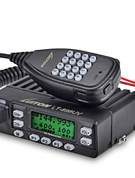 LT-898UV Rádio de Comunicação 4W/10W 199 channels 400 - 470 MHz / 136 - 174 MHz none 5 - 10 kmProgramável com Software de PC / VOX /