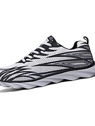 Women's Shoes Tulle Flat Heel Comfort Fashion Sneakers Athletic Blue / Green / Gray / Fuchsia / Orange