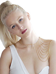 Body Jewelry/Belly Chain Body Chain Gold Plated Sexy Gold 1pc