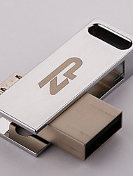 ZP C06 32GB USB 2.0 Resistente à Água / Resistente ao Choque / Rotativo / Suporte de OTG (Micro USB)