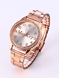 Men's Fashion Watch Casual Watch Quartz Stainless Steel Band Charm Silver Gold Rose Gold