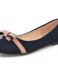 Women's Shoes Fleece Summer Comfort Flats Casual Flat Heel Others Blue / Beige
