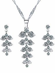 Schmuck Halsketten / Ohrringe Halskette / Ohrringe / Braut-Schmuck-Sets Quaste / Modisch Hochzeit / Party / Alltag / Normal 1 Set Damen