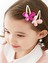 Girls Hair Accessories,All Seasons Cotton Blends Pink / Red