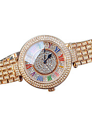Women's Luxury Rose Gold Diamond Quartz Watch