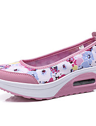 Women's Shoes Fabric Spring / Summer / Fall / Roller Skate Shoes / Creepers / Comfort / Flats Sneakers /