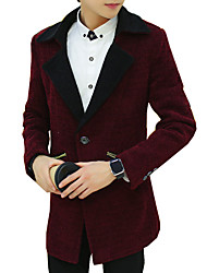 The new/man/fashion/coat/business/leisure/suit/woolen cloth/coat/jacket/trend SLS-YF-X9821