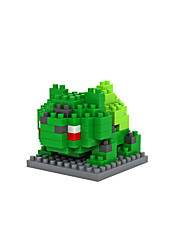 poche petit monstre bulbasaur abs super mini 120 pièces blocs de diamant