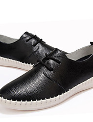 Women's Oxfords Summer Slingback Canvas Casual Low Heel Lace-up Black / Brown / Green / Beige