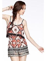 Coeur Soul® Femme Taille Normale Shorts Orange Pour tous les jours Pantalon-W2640150BU8C