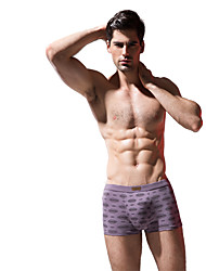 BONAS® Men's Cotton / Modal Boxer Briefs Bamboo Fiber