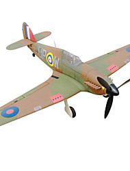 Dynam Hawker Hurricane 1:8 Moteur Sans Balais 50KM/H Quadrirotor RC 5canaux 2.4G EPO Khaki Assemblement requis