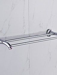 Towel Bar / Chrome / Wall Mounted /60*15*10 /Zinc Alloy /Contemporary /60 15 0.847