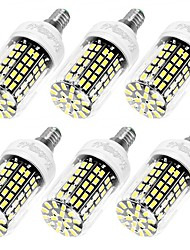 YouOKLight 6PCS High Luminous E27 E14 220V 108*SMD5733 LED Corn Bulb 10W Spotlight LED Lamp Candle Light