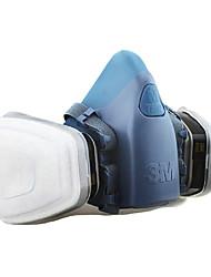 masques anti-gaz 3m-7502 à 6005 vapeur de gaz d'acide organique activé masques de carbone