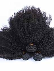 Indian Afro Kinky Curly Virgin Human Hair Weave 3pcs/lot 100% Unprocessed Human Hair Very soft Curl