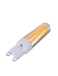 4W G9 Bombillas de Filamento LED T 4 COB 200-300 lm Blanco Cálido / Blanco Fresco Regulable / Decorativa AC 100-240 V 1 pieza
