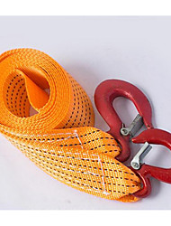 High Quality Car Emergency Tow Rope Car Traction With Steel Wire Trailer Tow Rope Rescue