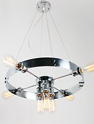 60W Pendant Light ,  Modern/Contemporary / Traditional/Classic Electroplated Feature for Mini Style MetalLiving Room