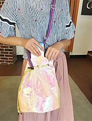 Feminino Poliéster Casual sacos de balde