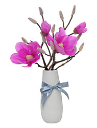 Silk Magnolia Artificial Flowers