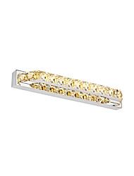 10w cristal / led iluminação do banheiro, moderno / contemporâneo de metal integrada levou