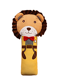 Children's Safety Belt Holder Baby Sleeping Seat Belt Shoulder Sleeve Lovely Cartoon Antile neck Belt Lion