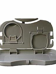 The Car Seat Back Folding Table, Multifunctional Rack, Storage Box