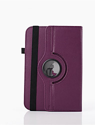 Universal For iPad PU Leather Case Stand 360 Degree Rotation Full Stand Cover for 10.1 Inch Tablets