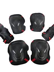 Joelheira / Cotoveleira / Suporte de Mão & Punho / Protetores Com Enchimento Equipamento de proteção Ski RespirávelFitness / Patins em