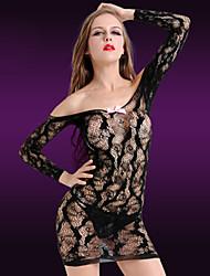 LIERMEI® Feminino Náilon Camisas e Vestidos-8883