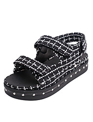 Summer Women's Casual Sandals Platform Height Increasing Slippers Message Shoes EU 36-39
