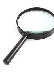 4X 100mm Diameter Lens Handle Straight Shank Reading Magnifier Magnifying Glass