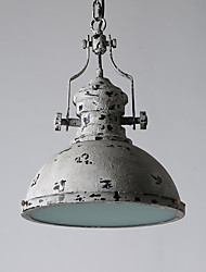 Vintage Amercian Industrial Metal with Glass Pendant Lamp for the Coffee Room / Bar / Indoor Decorate Pendant Light