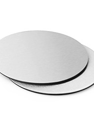 1Pcs Round Stainless Steel Coasters Cup Mat Table Decoration  Accessories Bar Tools