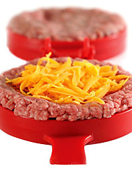 DIY Plastic Hamburger Meat Beef Grill Burger Press Patty Maker Mold Mould KitchenStufz Machine Patties