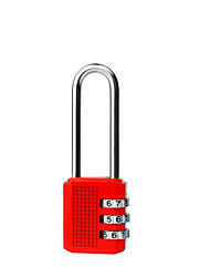 Long Locks Bookcase Locker Handle Zinc Alloy Metal Security Small Padlock (Color Random Delivery)